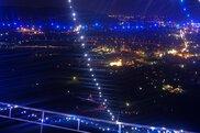 船岡城址公園の夜景