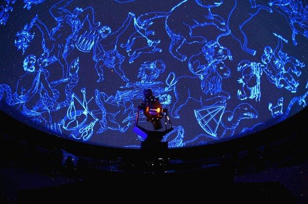 新潟県立自然科学館のプラネタリウム