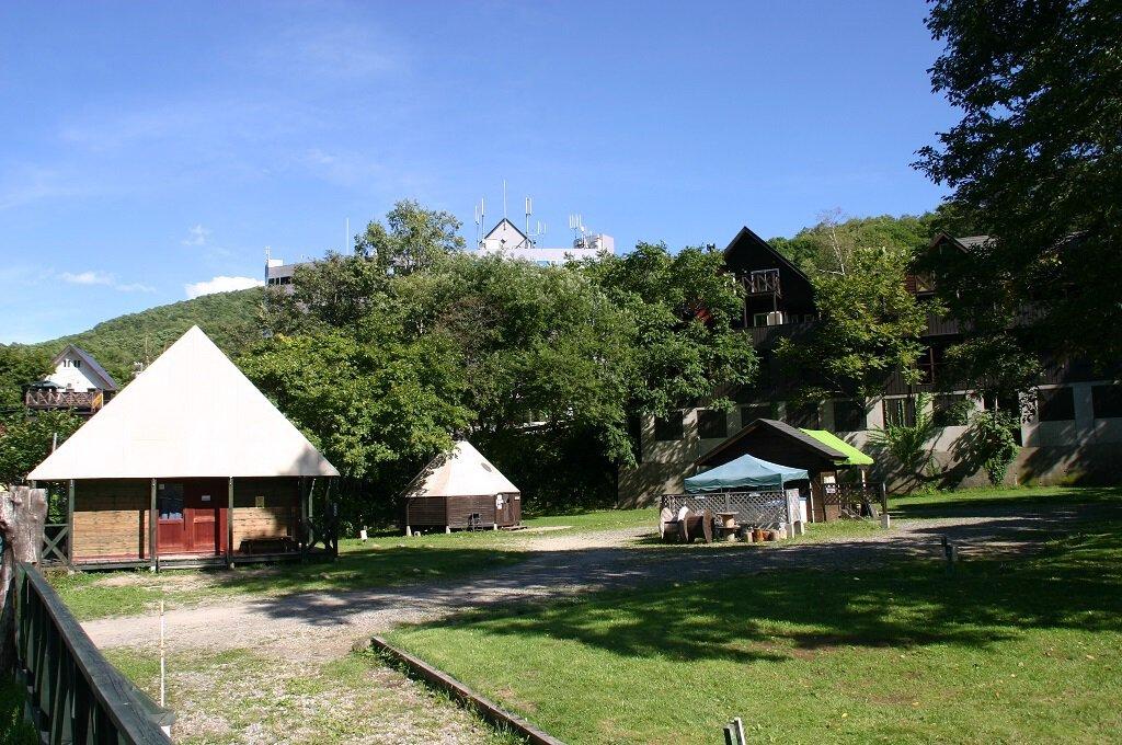 ウィンケルビレッジ 朝里川温泉オートキャンプ場