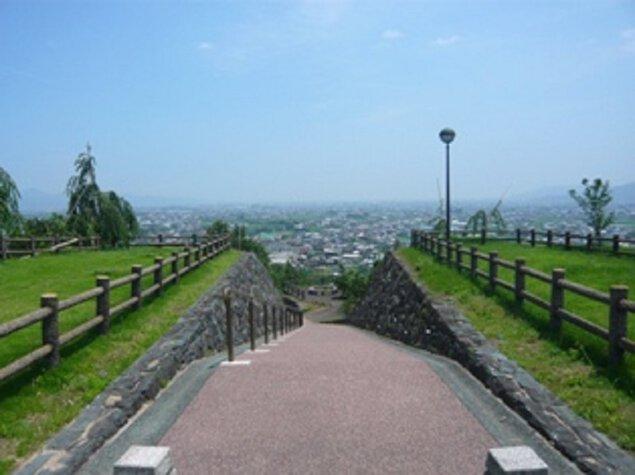 向麻山公園山頂広場