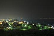 内灘町総合公園の夜景