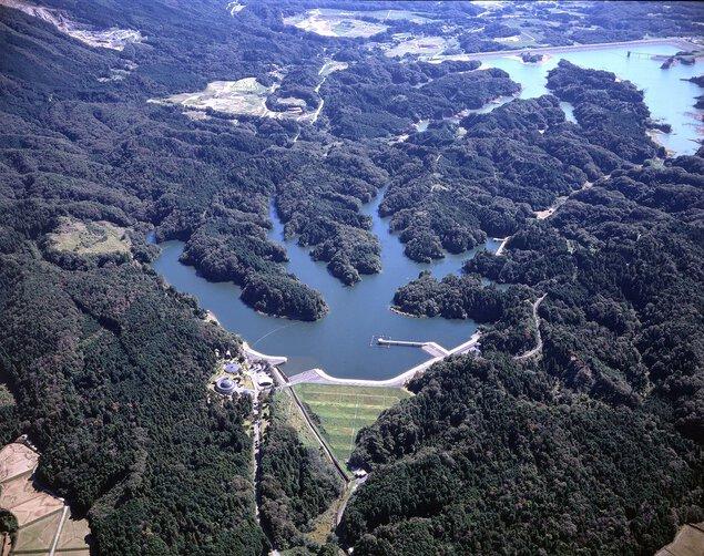 打上調整池 水嶺湖