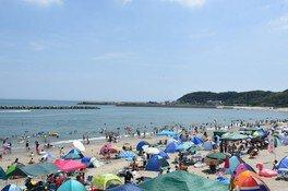 【2020年営業中止】阿字ヶ浦海水浴場