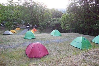 県営松川キャンプ場