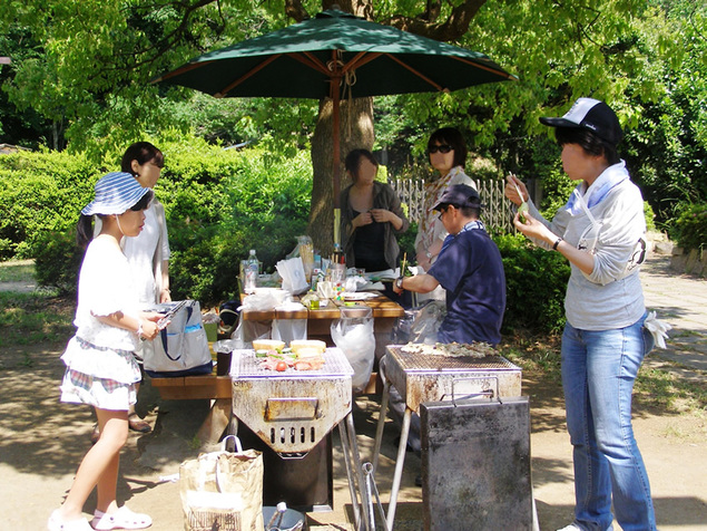 横浜市金沢自然公園(バーベキュー広場)