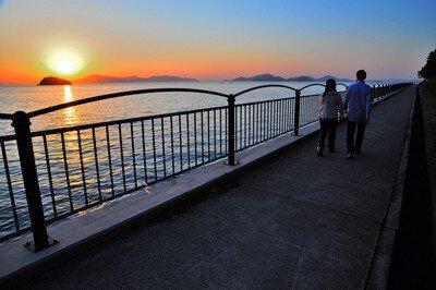恋人の聖地 うたづ臨海公園