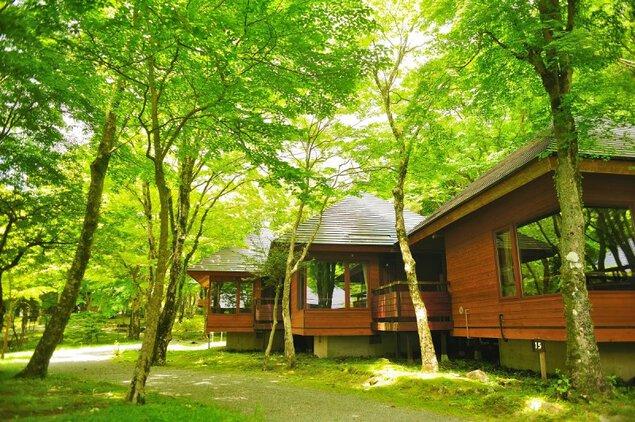Fun Space 芦ノ湖キャンプ村 レイクサイドヴィラ