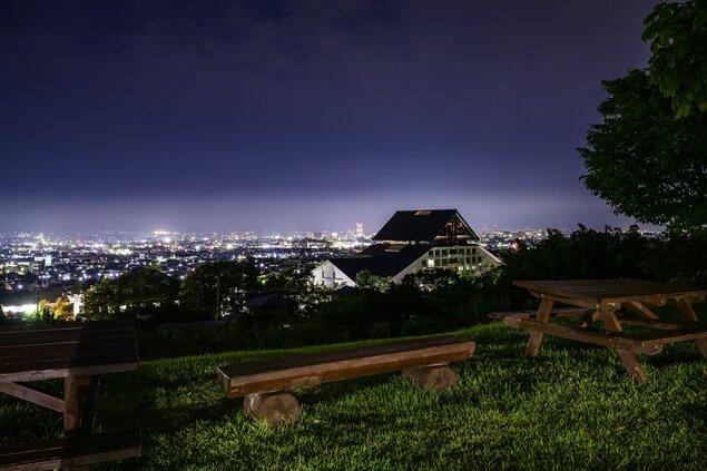 悠創の丘の夜景