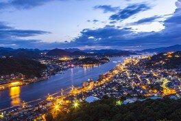 浄土寺山展望台の夜景