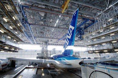 【一時見学休止】ANA機体工場