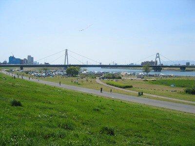 淀川河川公園 太子橋地区
