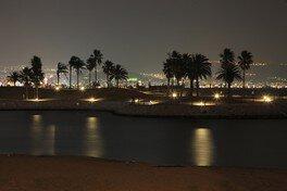 田ノ浦ビーチの夜景