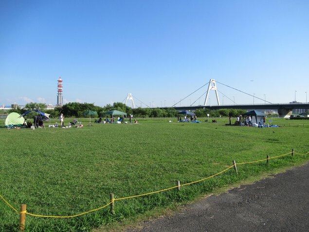淀川河川公園 豊里地区