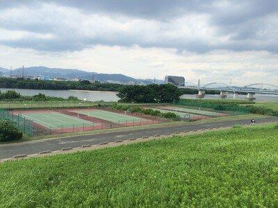 淀川河川公園 三矢地区
