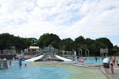 国営昭和記念公園レインボープール【2021年はエリア限定で開放】