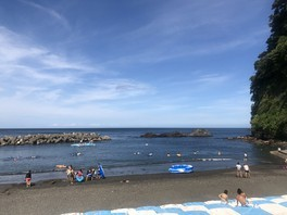 日の出浜遊泳場