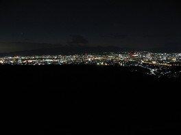 大岩山展望所の夜景