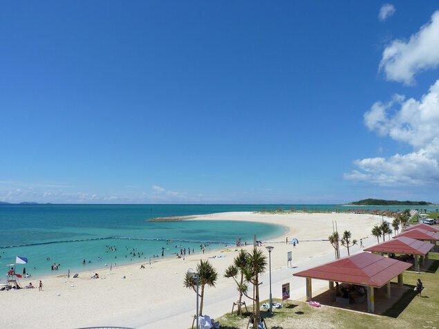 豊崎海浜公園 美らSUNビーチ