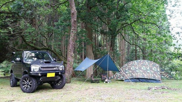 大平渓谷キャンプ場