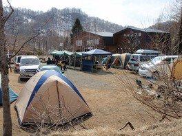 桧原西湖畔オートキャンプ場