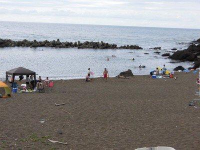 米山海水浴場