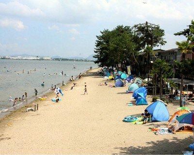 真野浜水泳場