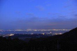 奥比叡ドライブウェイ(琵琶湖展望台)の夜景