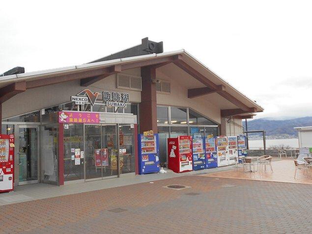 諏訪湖SA(下り線)