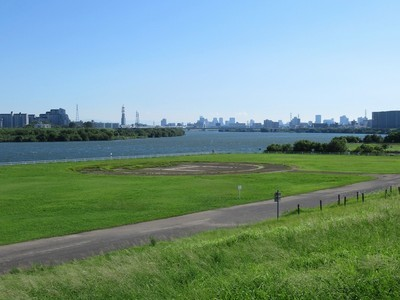 淀川河川公園 一津屋野草地区・一津屋河畔地区