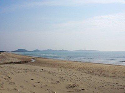 神湊海水浴場(北斗の水くみ海浜公園)