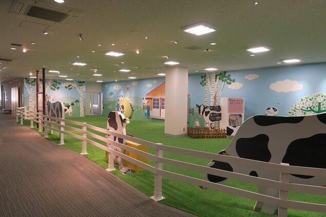 よつ葉乳業十勝主管工場 見学施設「おいしさまっすぐ館」