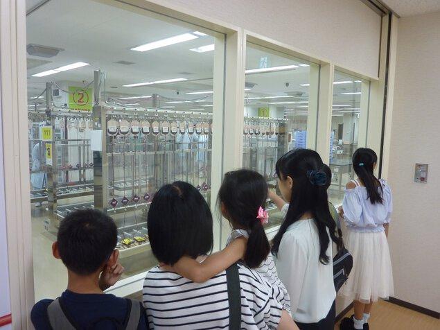 【施設見学一時休止】愛知県赤十字血液センター