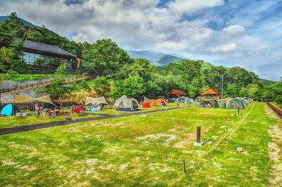 網張温泉キャンプ場