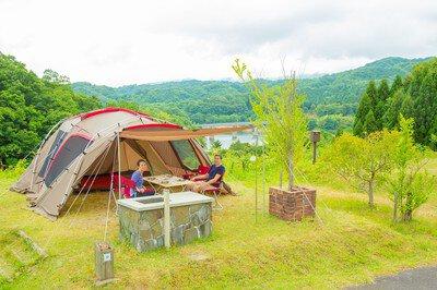 緑水湖オートキャンプ場