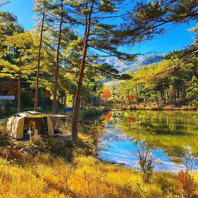 親田高原おおぐて湖キャンプ場