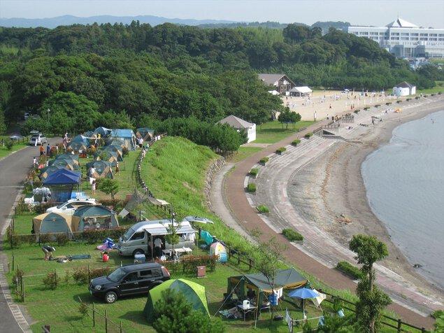糸ヶ浜海浜公園キャンプ場