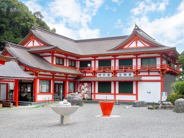 【臨時休館】近江神宮時計館宝物館