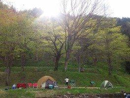 五箇山国民休養地相倉キャンプ場
