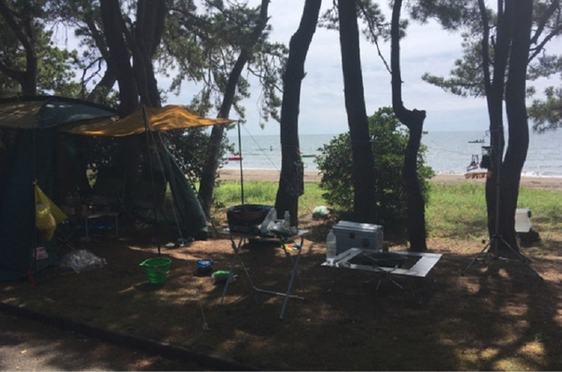 見附島シーサイドキャンプ場