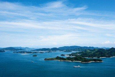瀬戸内海国立公園 筆影山・竜王山