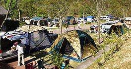 西脇市 日本のへそ 日時計の丘公園オートキャンプ場