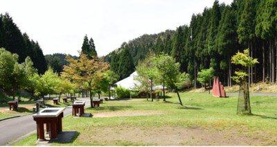 フォレストステーション波賀東山オートキャンプ場