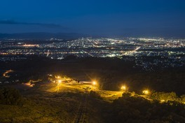 サンタプレゼントパーク「ニコラス展望タワー」の夜景