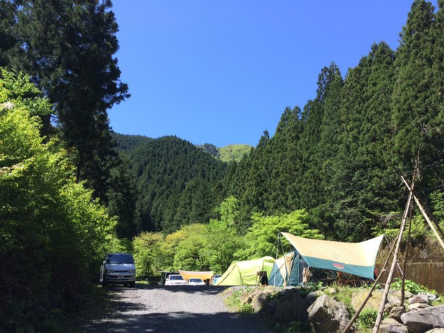 大岳キャンプ場 東京都あきる野市 Gw ゴールデンウィーク 2019