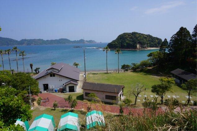 栄松ビーチキャンプ場