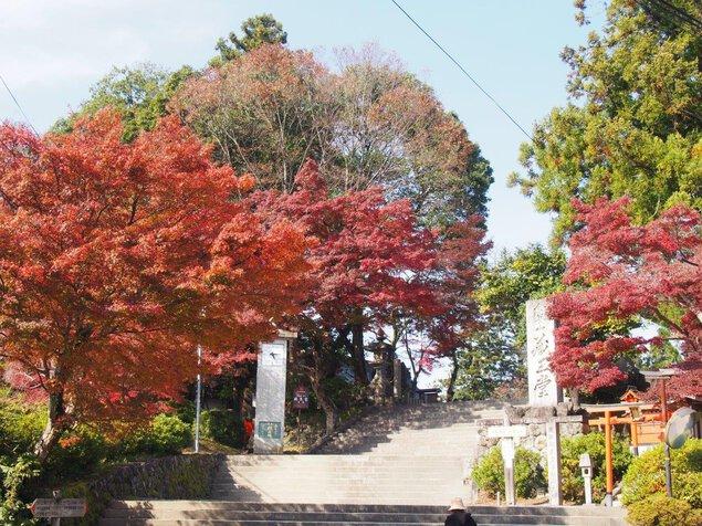 吉野山(中千本)の紅葉