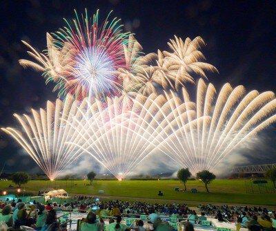 【2020年開催なし】とりで利根川大花火