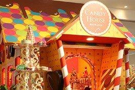 1階ロビーにはお菓子詰め放題を楽しめる「キャンディハウス」が登場