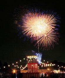 令和元年度入間基地納涼祭「盆踊りと花火の夕べ」画像 (2/2)