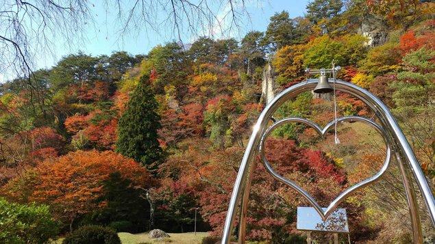きみまち阪県立自然公園の紅葉